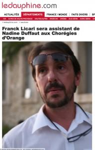 franck choregie